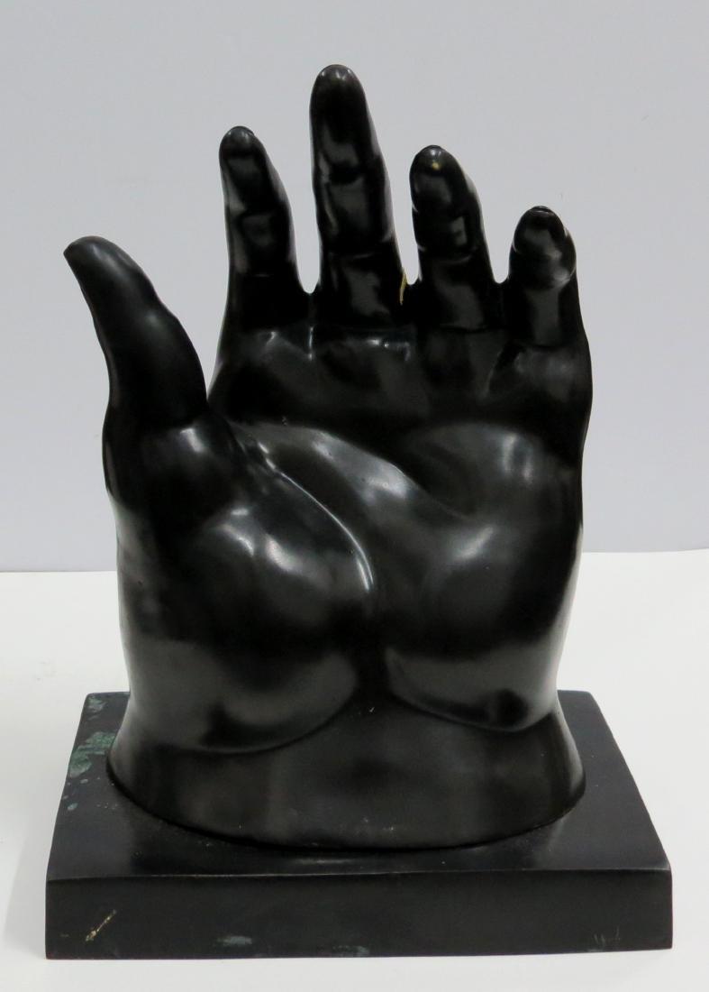 "Fernando Botero Bronze ""The Hand"" 2/6 COA Stamped"
