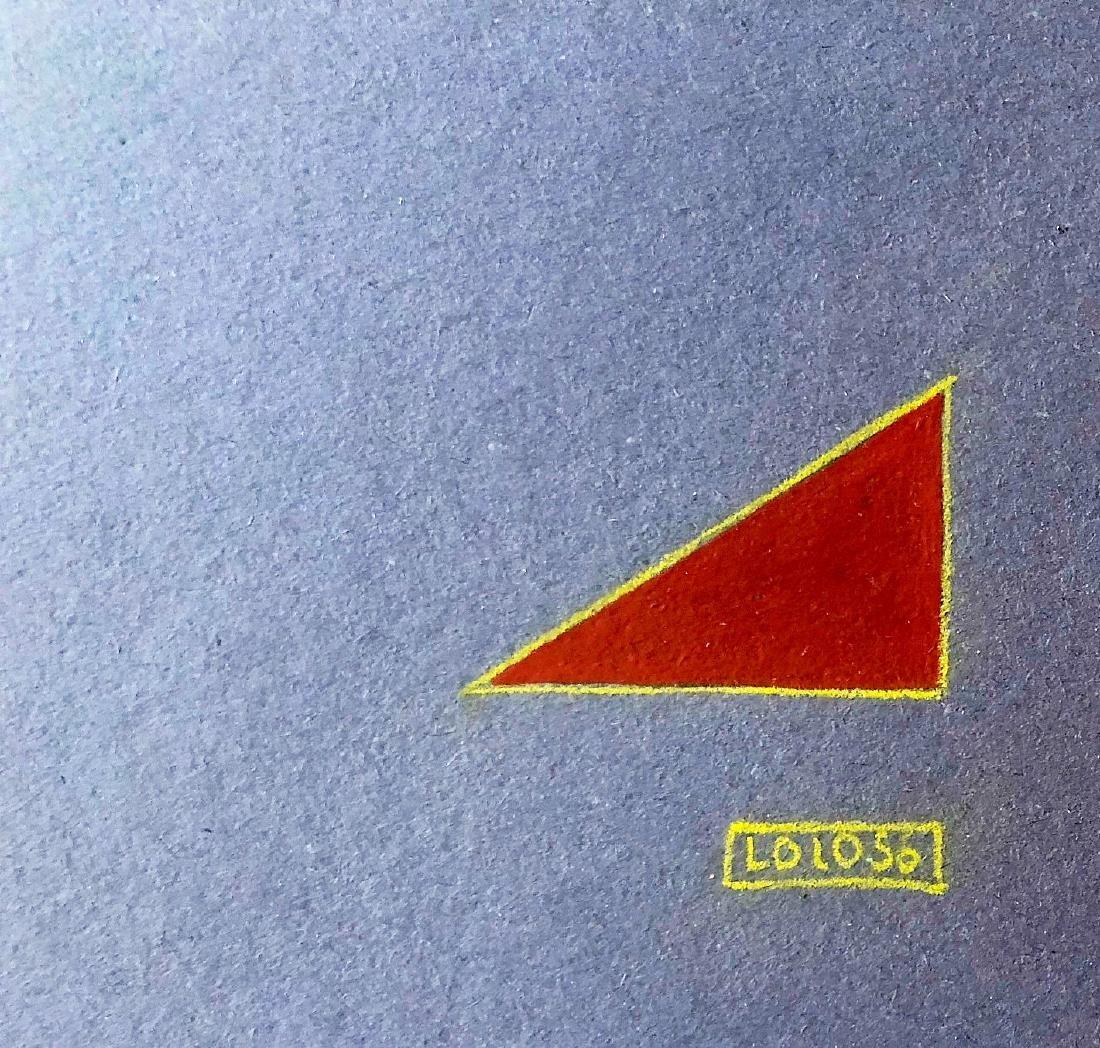 """Lolo Soldevilla 1956 Pencil, gouache on paper 8"""" x 11"""" - 2"""