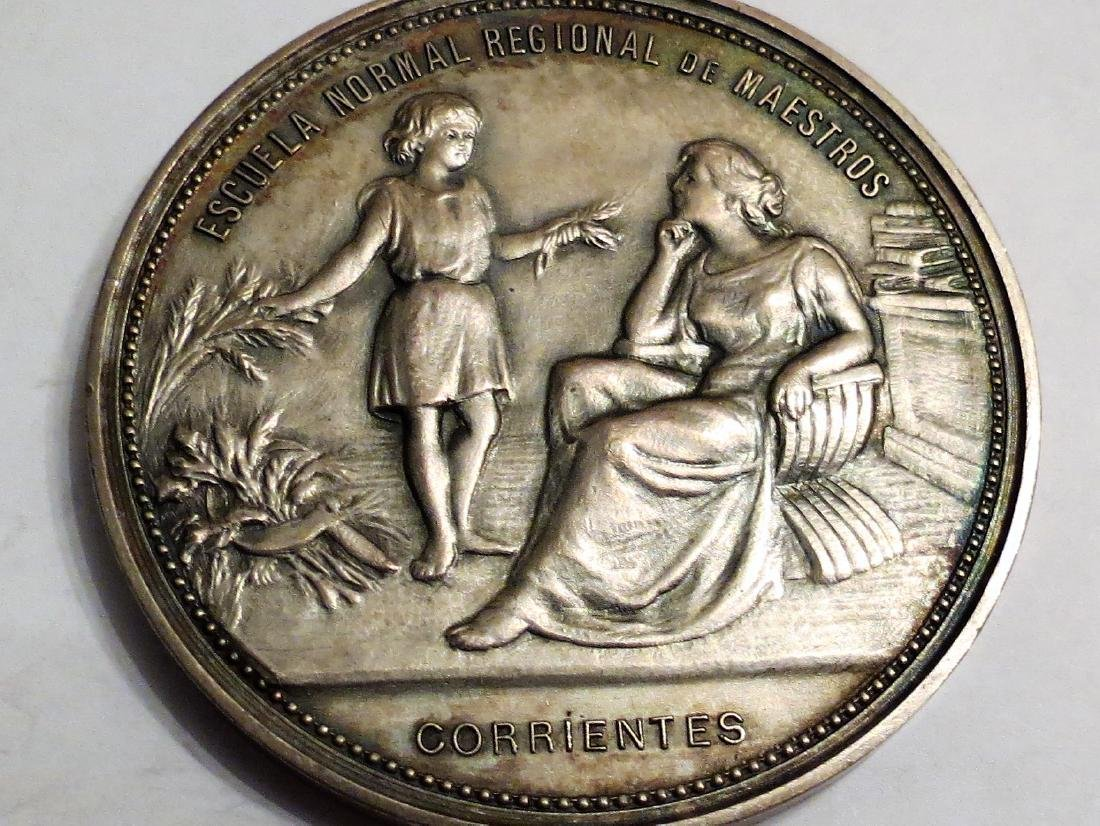 Silver Medal Education 1904 Corrientes 71 Grms 2.2""