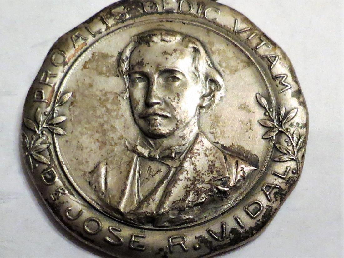 "Silver Medal Medicine - Hospital 1927 1.2"" 18 Grms"