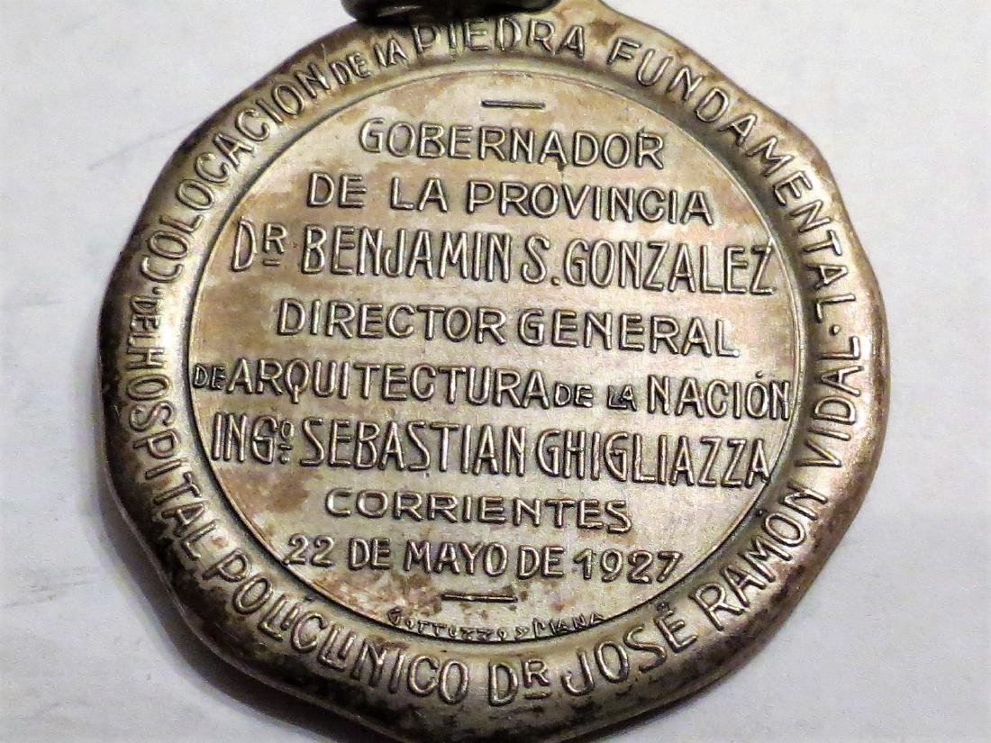 "Silver Medal Medicine - Hospital 1927 1.2"" 18 Grms - 2"