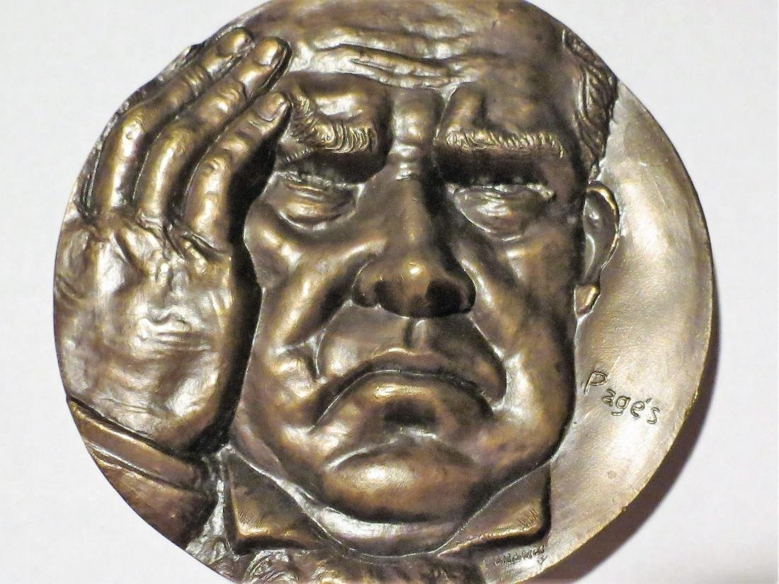 Big Bronze Medal 1988 Sarmiento By Pages 3.2""