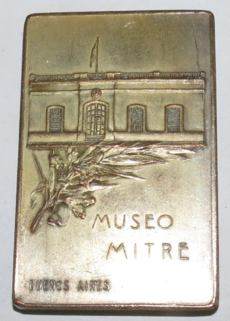 """Copper Medal Ministry of Defense 1.8"""" x 1.8"""" - 2"""