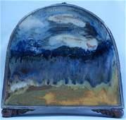 "Amall 75 Ceramic & Metal Sculpture H: 15"" W: 12"""