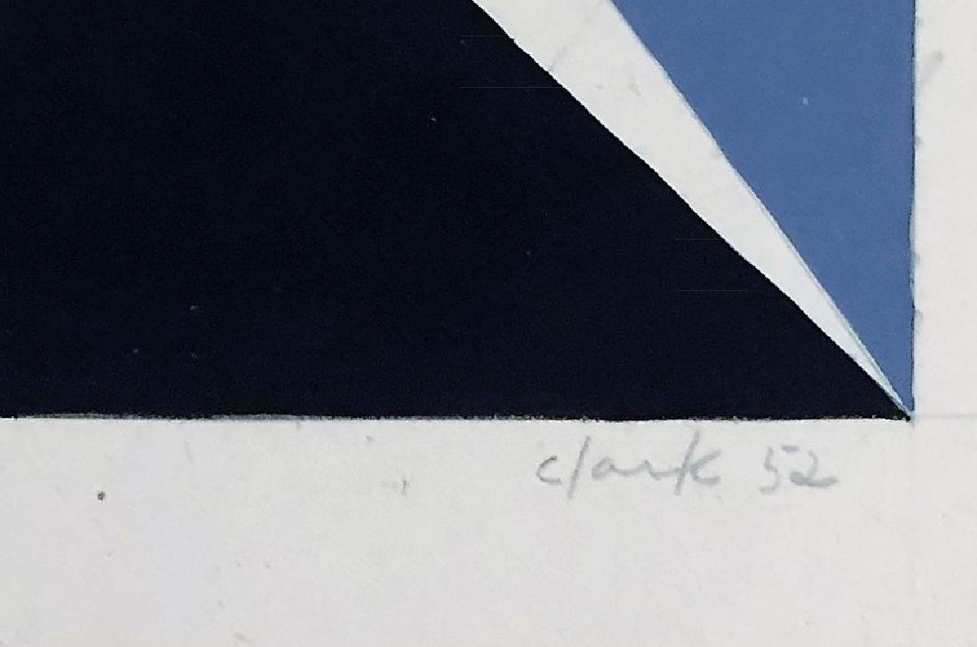 "Lygia Clark 1952 Mixed Media on paper 8"" x 15"" - 2"