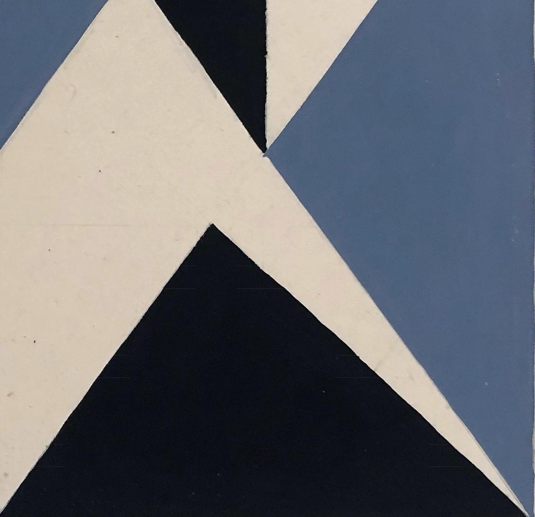 "Lygia Clark 1952 Mixed Media on paper 8"" x 15"" - 4"