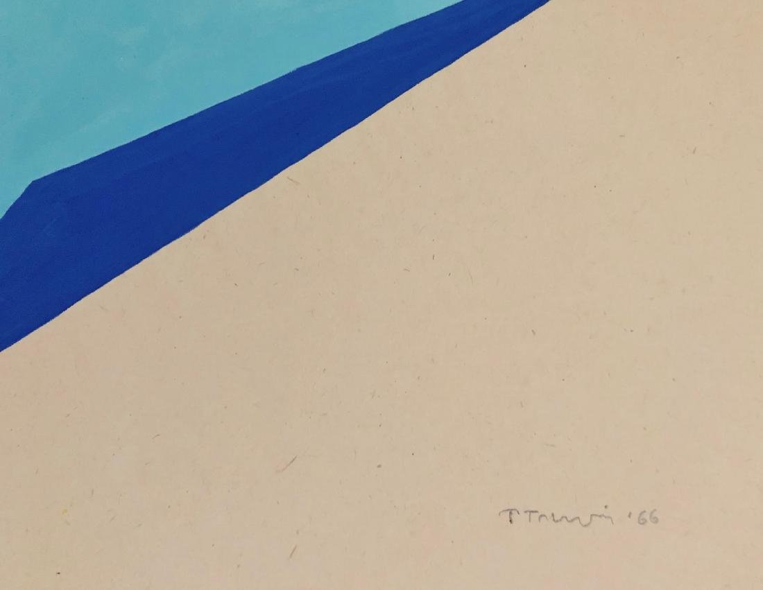 "Anne Truitt 1966 Gouache on paper 10.7"" x 13.6"" - 2"