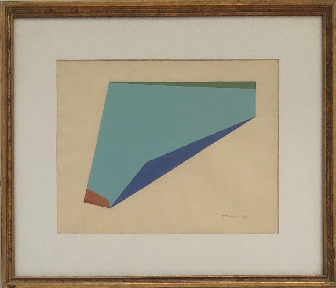 "Anne Truitt 1966 Gouache on paper 10.7"" x 13.6"" - 3"
