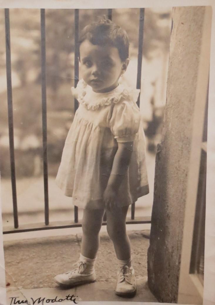 "Tina Modotti (Attributed) Photo of girl 7"" x 5"""