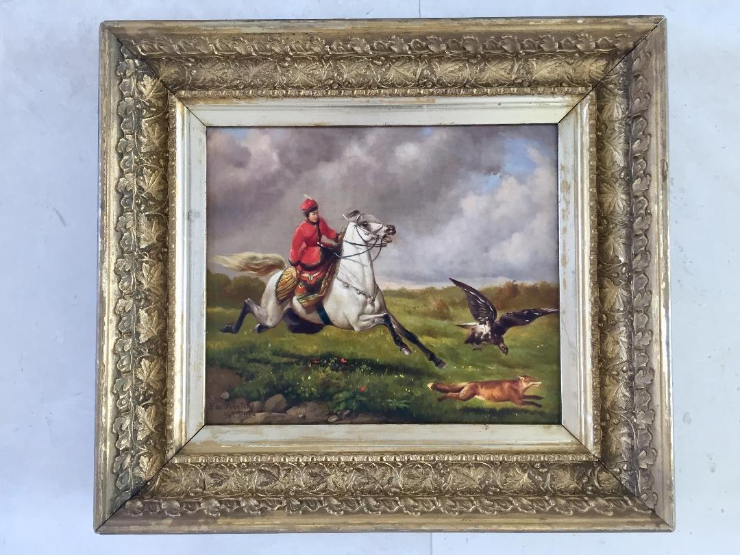 "Nikolai Sverchkov (Russian Oil on Canvas) 10.5"" x 12.5"""
