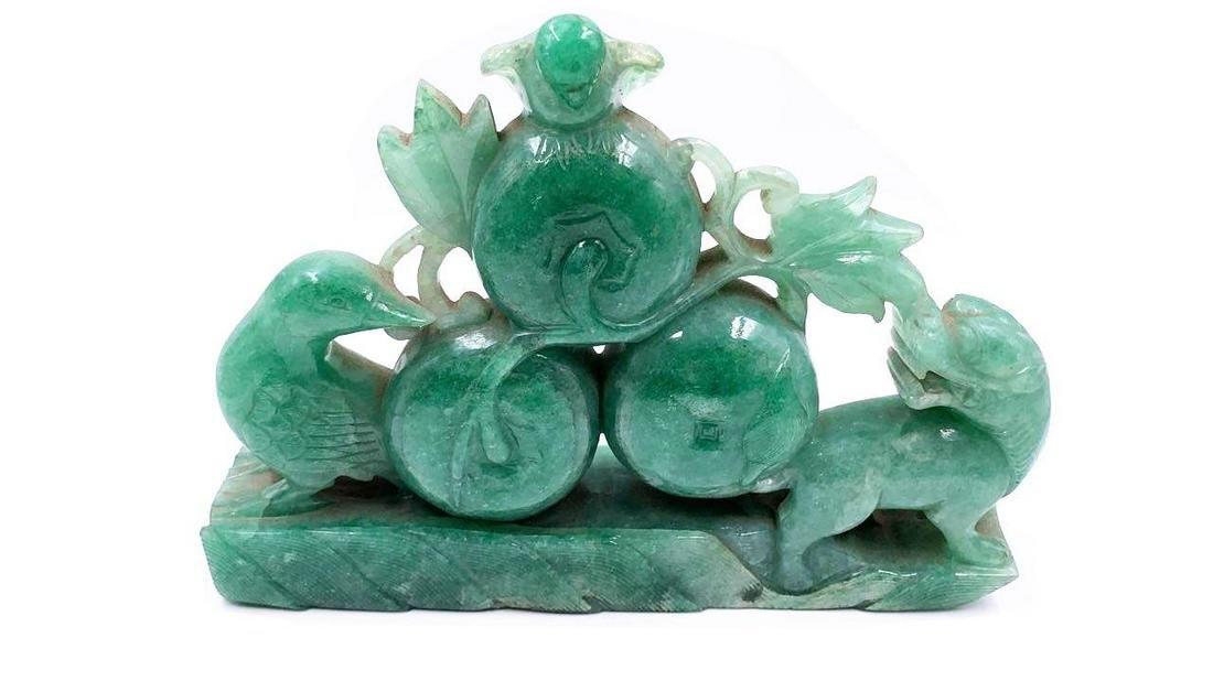 "Turquoise Sculpture Excellent Carving 5.5"" x 7"""