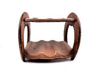 "Hermes Paris Pipe Stand H: 5.2"" W: 6"" D: 4.6"" France"