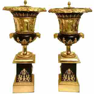 Pair of Perfume Burners By Pierre P Thomire XIX Cent.