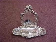 Sterling Silver Pocket Watch Holder & Tray