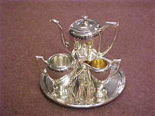 Sterling Silver Coffee Service,  Reed & Barton