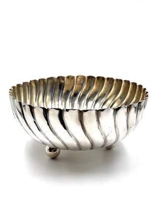 "Josef Hoffmann Art Deco Silver Bowl 7.2"" x 6.8""Austria"