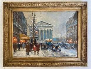 Edouard Cortes (Attrib) Oil on Canvas No COA