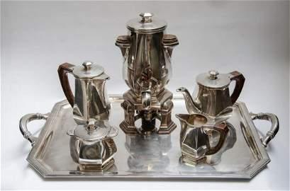 Magnificent French Silver Tea Set 9.2 Kg (324 Oz) Deco