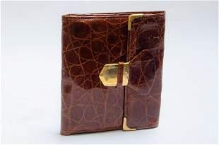 """Hermes Paris Wallet 4.5"""" x 4.3""""  France"""