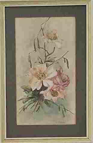 """Charles Porter Gouache on paper 11.5"""" x 6.5"""""""