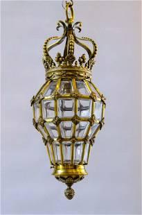 """Magnificent Lantern Versailles Style H: 20"""" W: 8"""""""