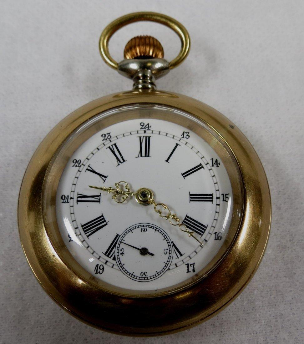 403: Pocket Watch, Bronze