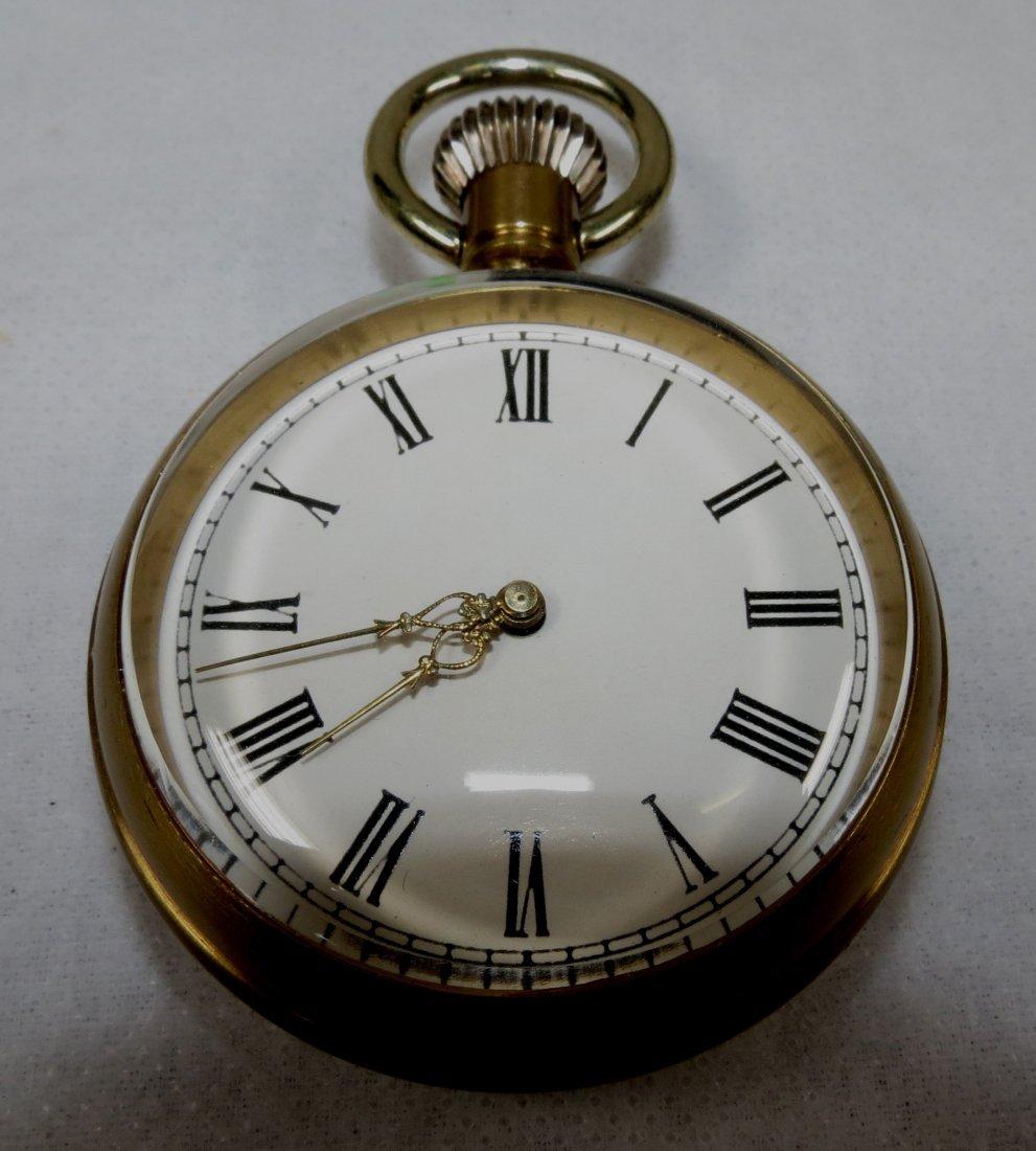 405: Pocket Watch, Bronze - Swiss