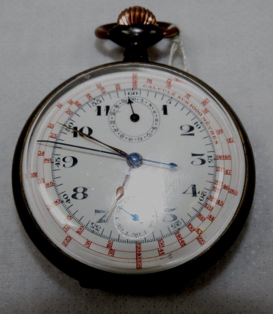 415: Pocket Watch, Chronometre. Swiss
