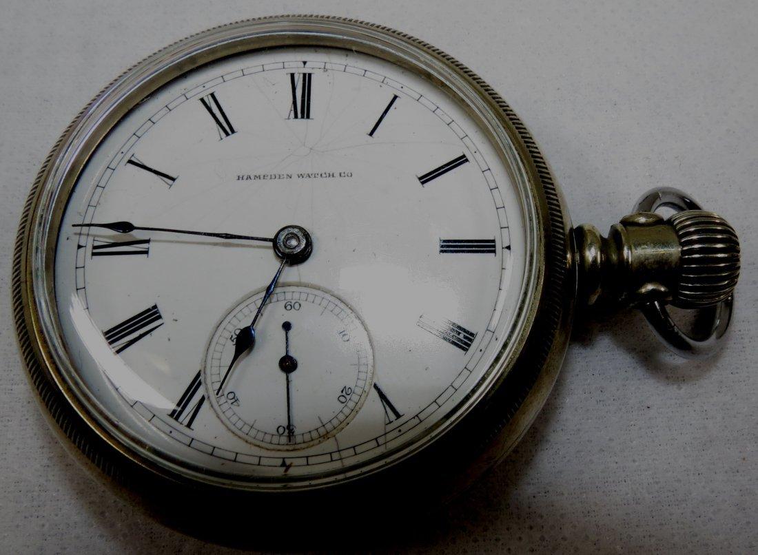 419: Pocket Watch, Hameden, Face Scratched