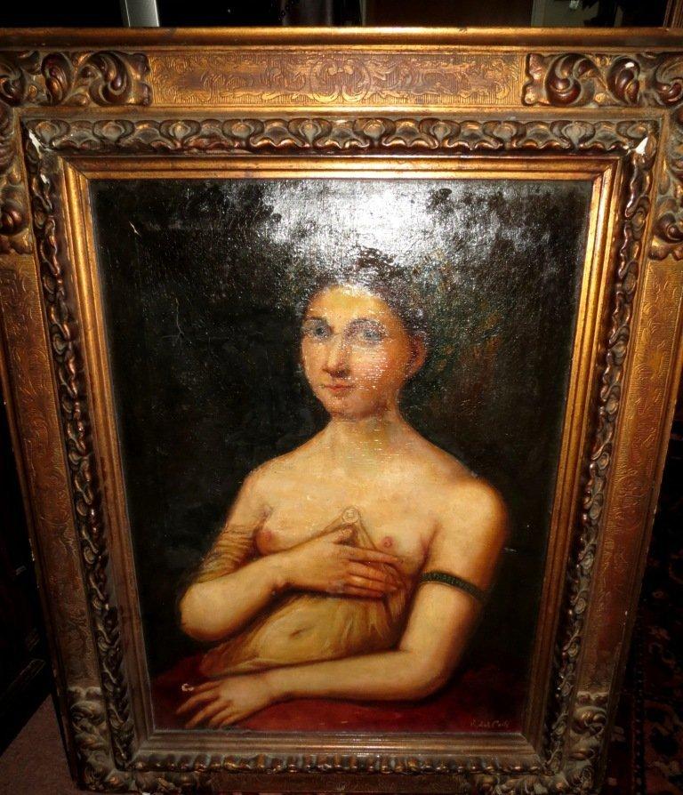 616: Oil on Canvas signed Raffaellino del Colle