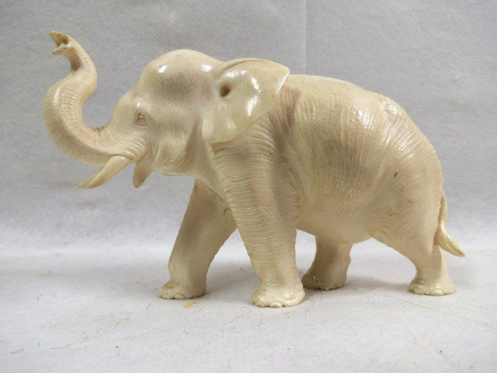 1271: Elephant Ivory sculpture