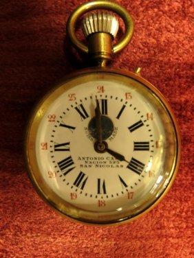1001: Pocket Watch Antonio Canes Swiss, Bronze