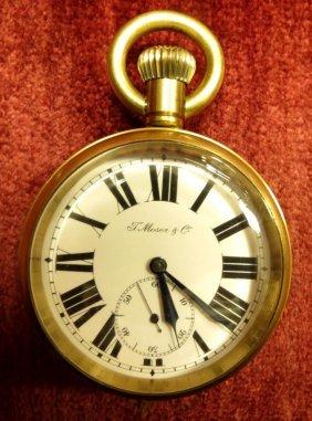 Pocket Watch  Moser & Co. ,Swiss Made