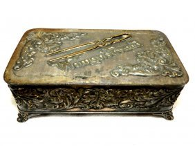"1011: Art Nouveau Jewelry Box ""Pairpoint"""