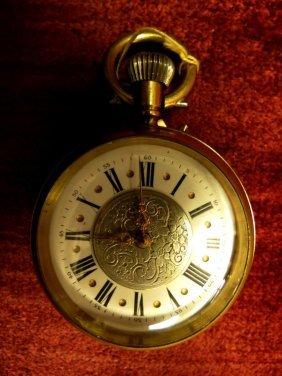 1015: Pocket Watch, Swiss, Bronze