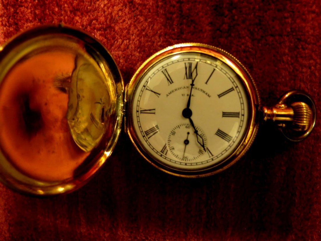 1024: Pocket Watch American Waltham