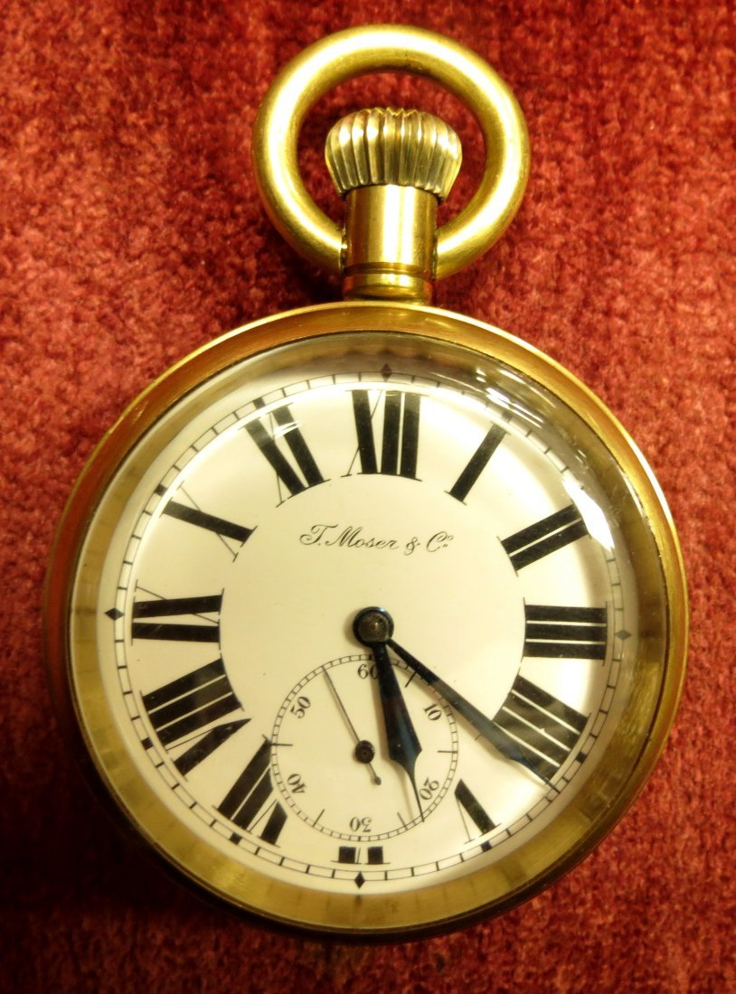1002: Pocket Watch  Moser & Co. ,Swiss Made