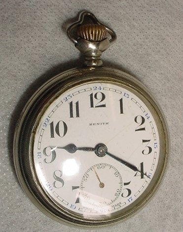1006: Pocket Watch, Zenith, Swiss made