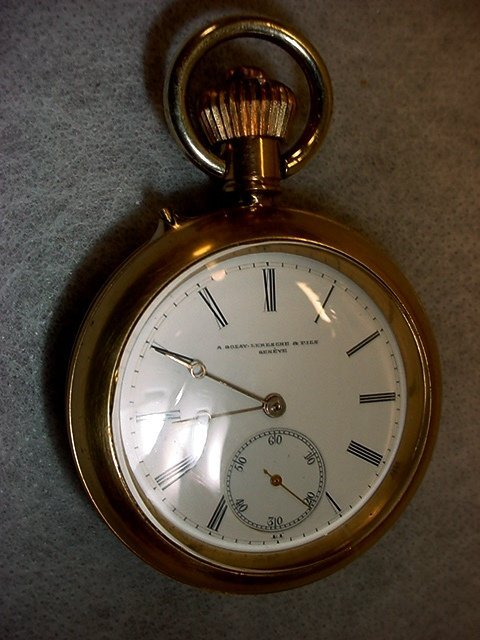 1007: Pocket Watch ,A. Golab-Lereshe, Geneve