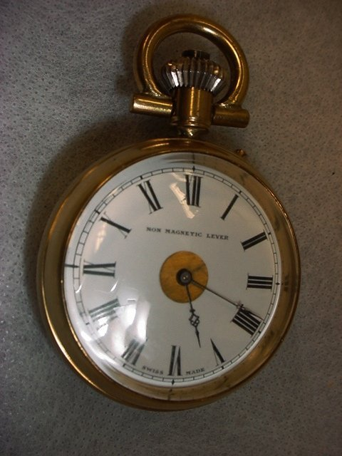 1008: Pocket Watch Non Magnetic Lever, Swiss made