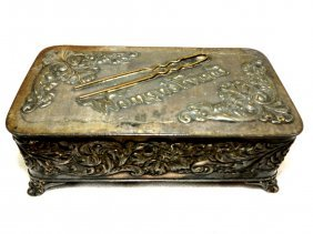 "1011: Art Nouveau Jewelry Box ""Pairpoint"""