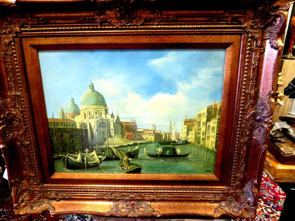 1021: Oil on Wood, Venice