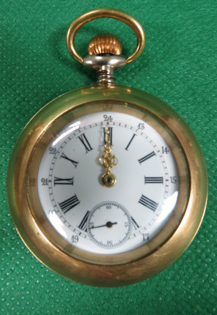 1005: Pocket Watch, with key and chain