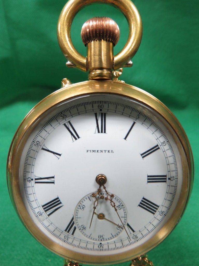 1011: Big Pocket Watch , Roman Numerals. Pimentel