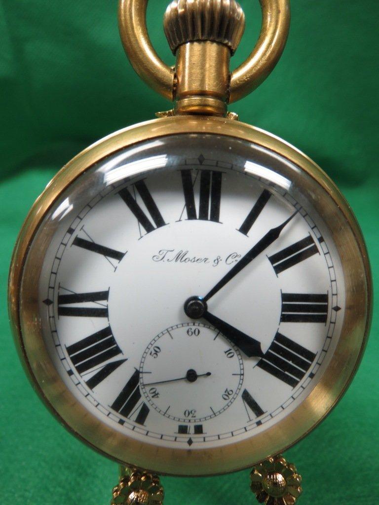 1013: Big Pocket Watch, Roman Numerals. T.Moser & Co.