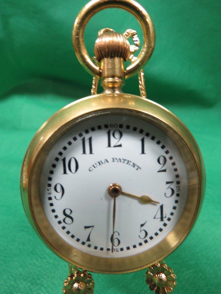 1014: Pocket Watch Cuba Patent