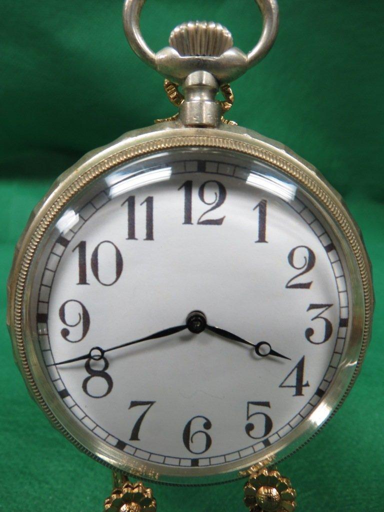 1015: Pocket Watch, w/decoration