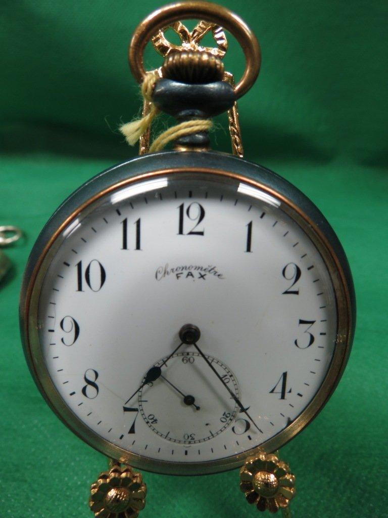 1017: Pocket Watch, Chronometre FAX # 117500