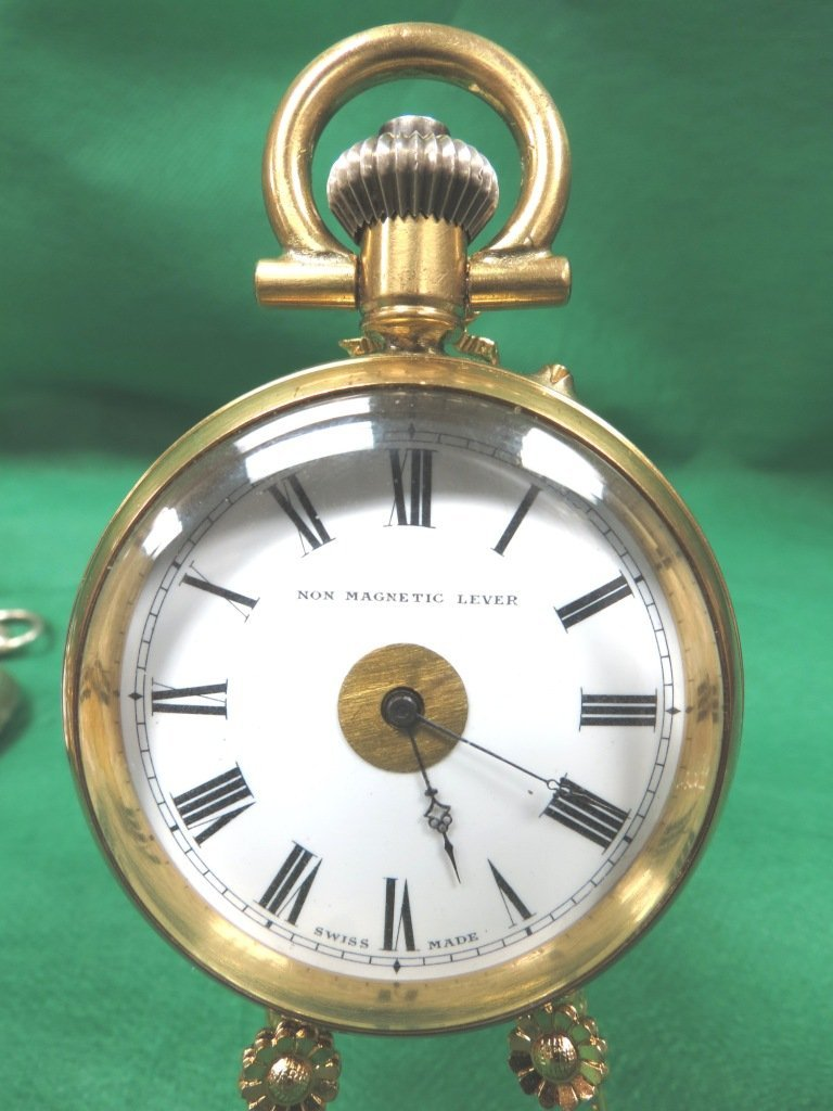 1018: Pocket Watch,Non magnetic Lever, Swiss Made