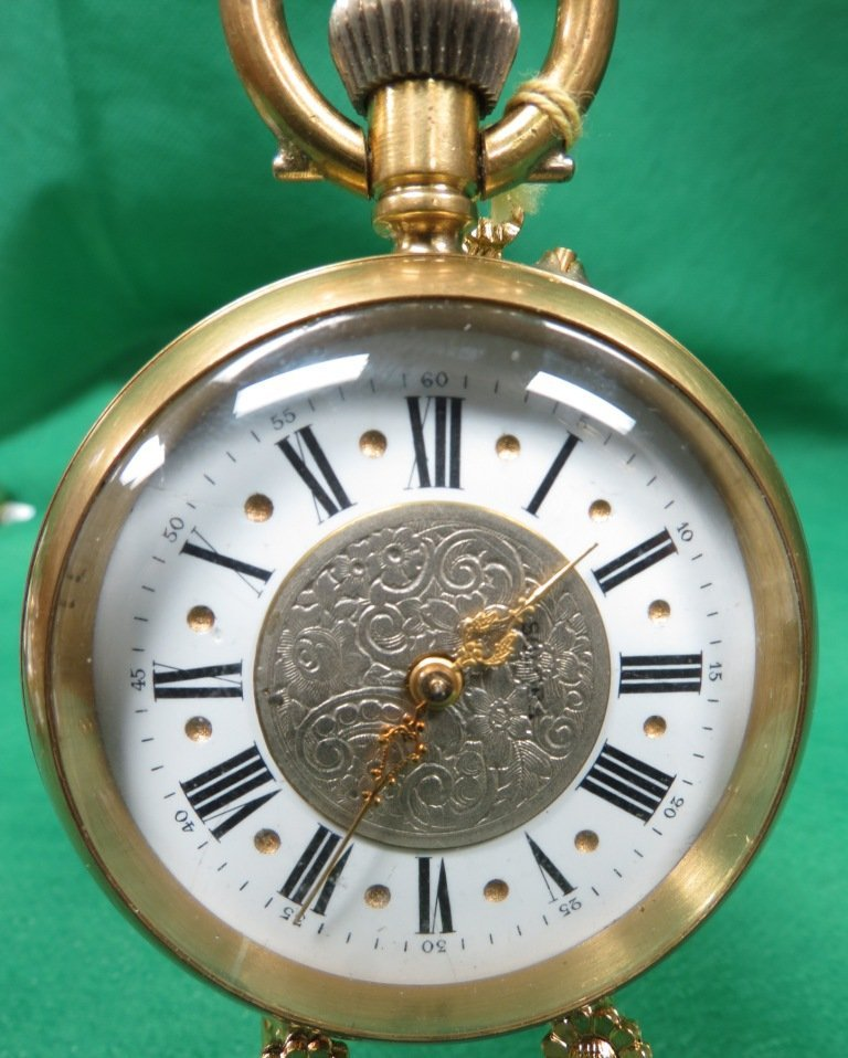 1021: Pocket Watch,  exquisite filagrane on face